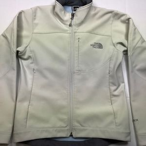 NORTH FACE APEX Softshell Fitted Ivory Jacket